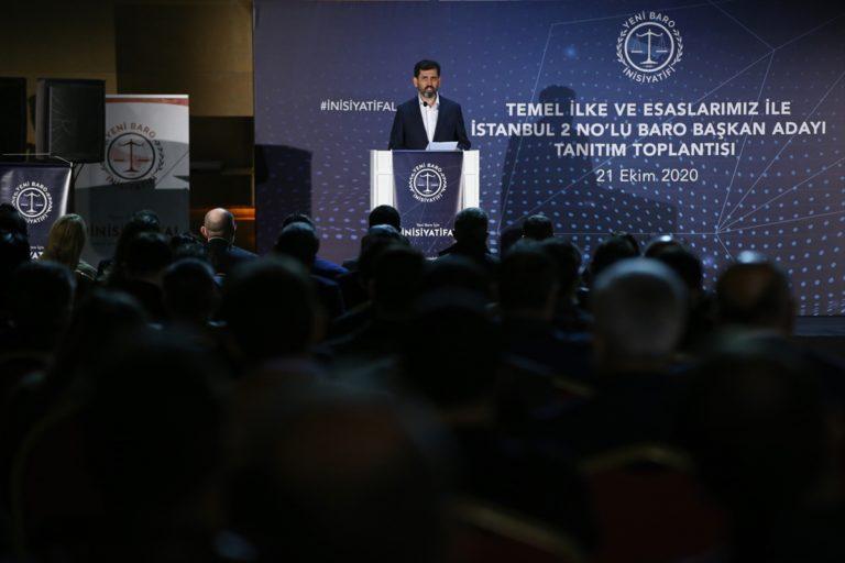 İstanbul 2 No'lu Baro başkan adayı Cavit Tatlı: