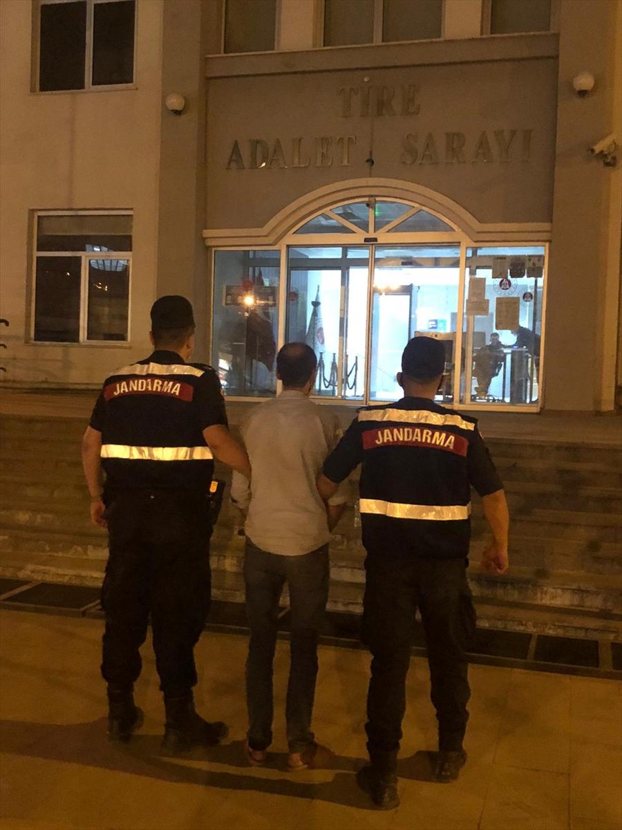 İzmir'de bahçeden 81 kilogram incir çalan zanlı tutuklandı