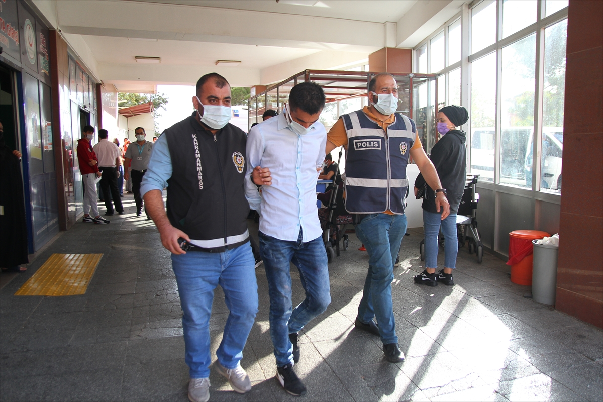 Kahramanmaraş'ta kapkaç anı güvenlik kamerasına yansıyan şüpheli yakalandı