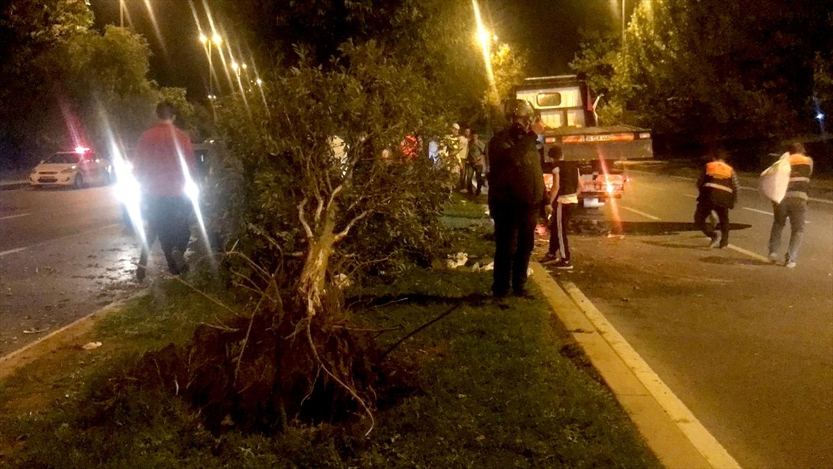 Kartal'da trafik kazası: 1 yaralı