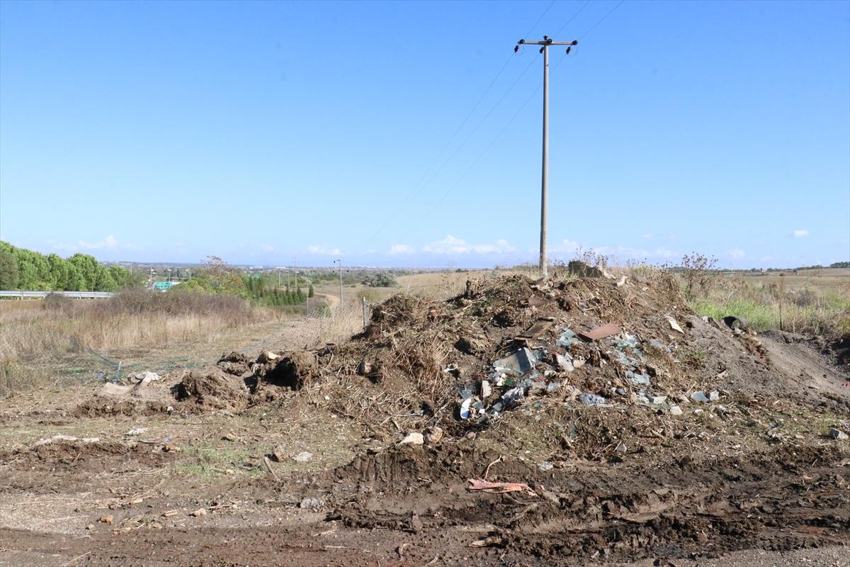 Kırklareli'nde çevreyi kirletenler güvenlik kameralarından tespit edilecek