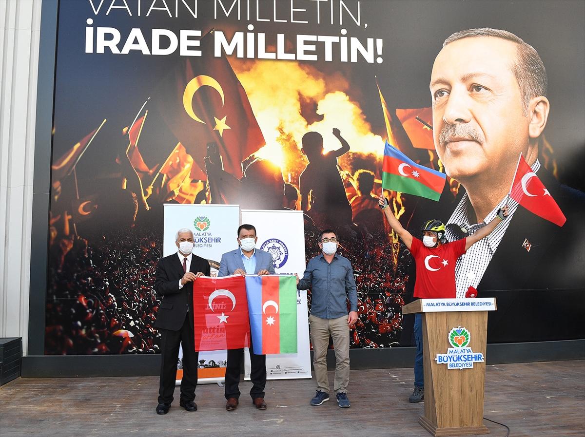 Malatya ve Şanlıurfa'da Azerbeycan'a destek etkinlikleri düzenlendi