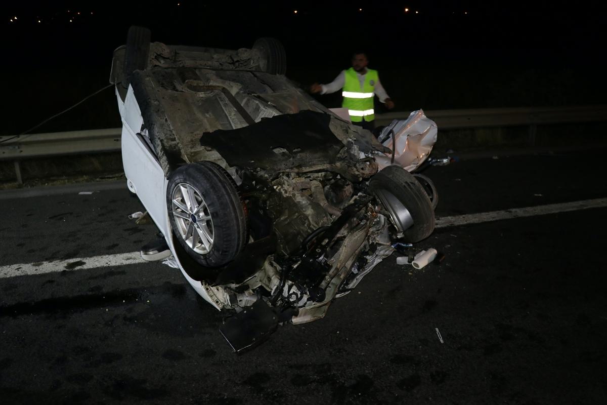 Osmaniye'de iki otomobil çarpıştı: 2 ölü, 9 yaralı
