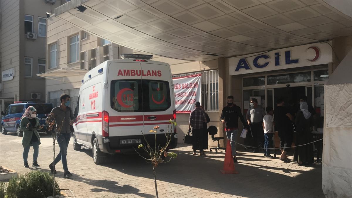 Şanlıurfa'da 10 işçi gıda zehirlenmesi şüphesiyle hastaneye kaldırıldı