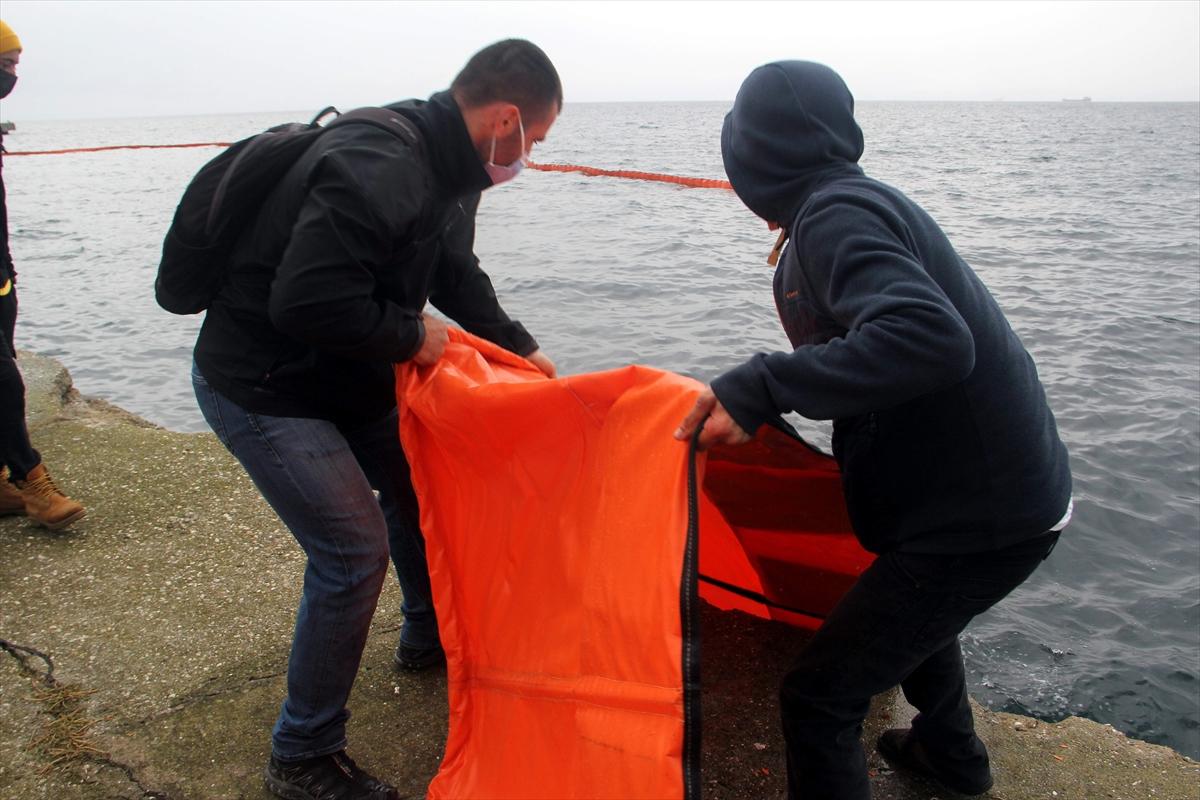 Sinop'ta deniz kirliliğine karşı acil müdahale tatbikatı yapıldı