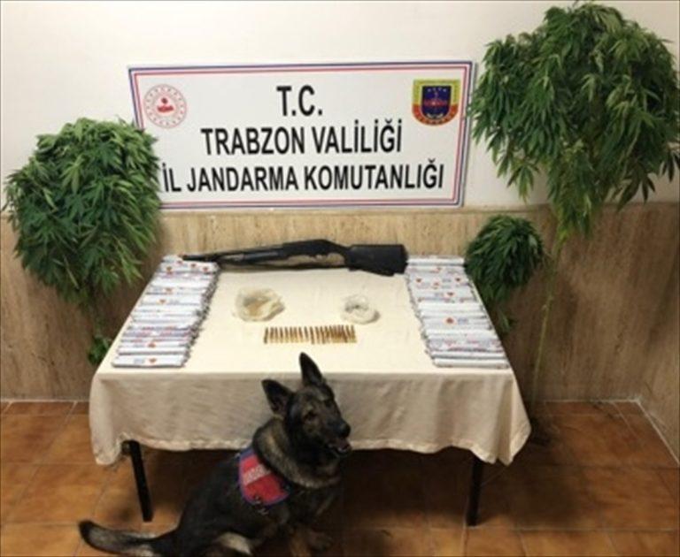 Trabzon'da düzenlenen uyuşturucu operasyonunda bir kişi gözaltına alındı
