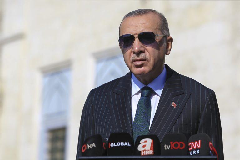 Cumhurbaşkanı Erdoğan, gündeme ilişkin soruları cevapladı: (1)