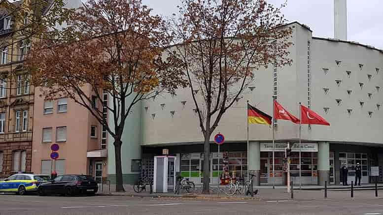 Mannheim DİTİB hassasiyet gösteren polis teşkilatına teşekkür etti