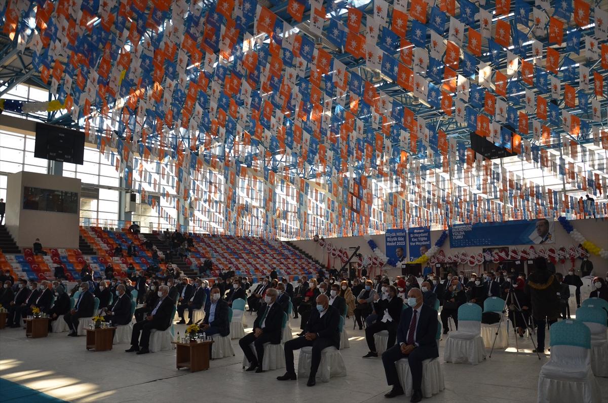 AK Parti Genel Başkan Yardımcısı Usta, Karaman 7. Olağan İl Kongresi'nde konuştu: