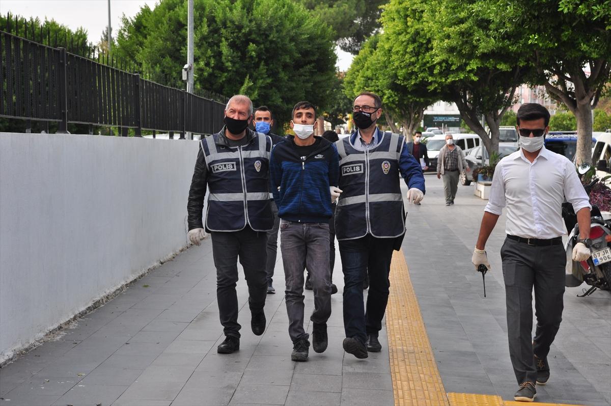 Antalya'da hırsızlık şüphelisi iki kişi tutuklandı
