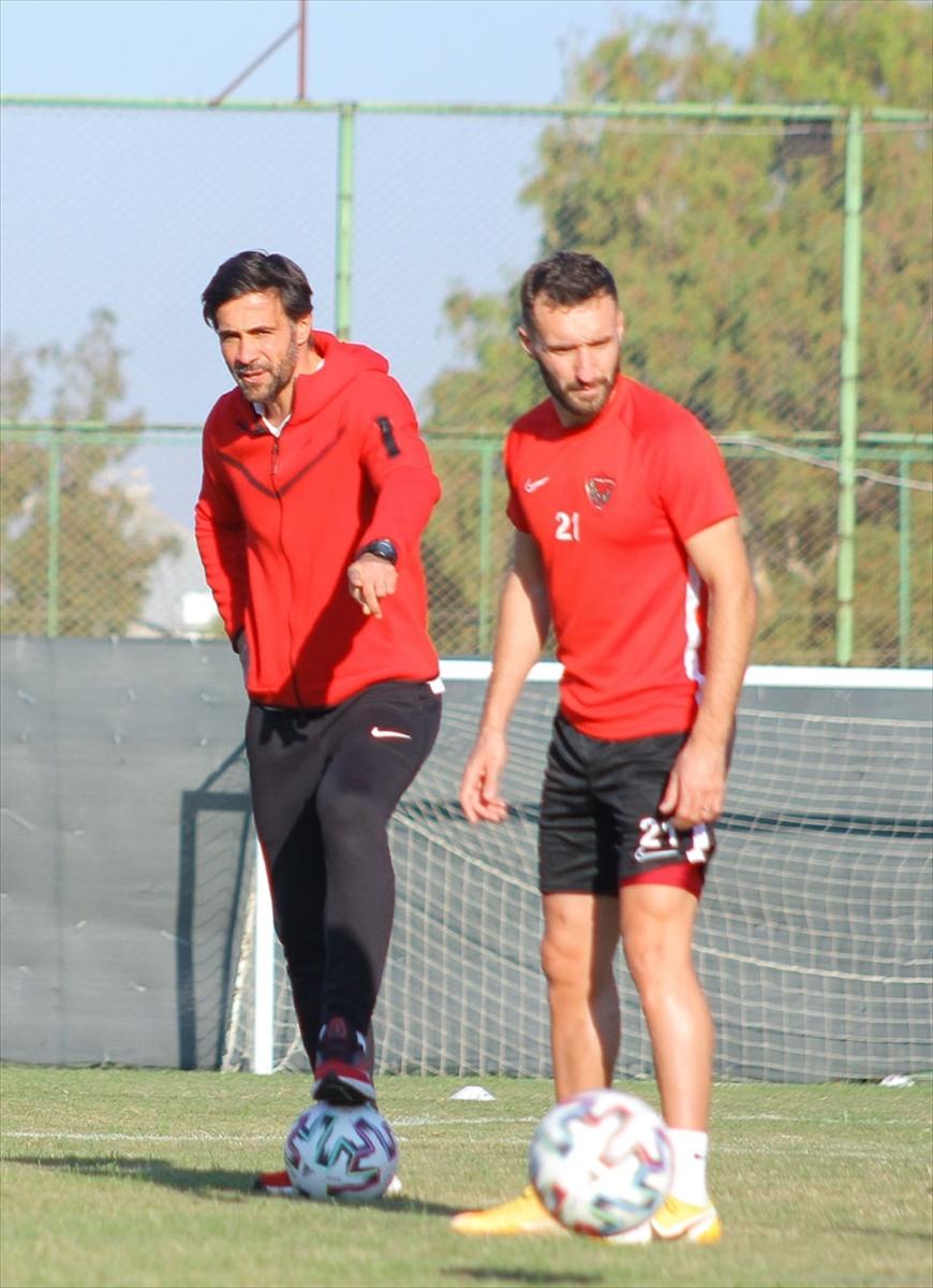 Atakaş Hatayspor, Karacabey Belediyespor maçı hazırlıklarına başladı