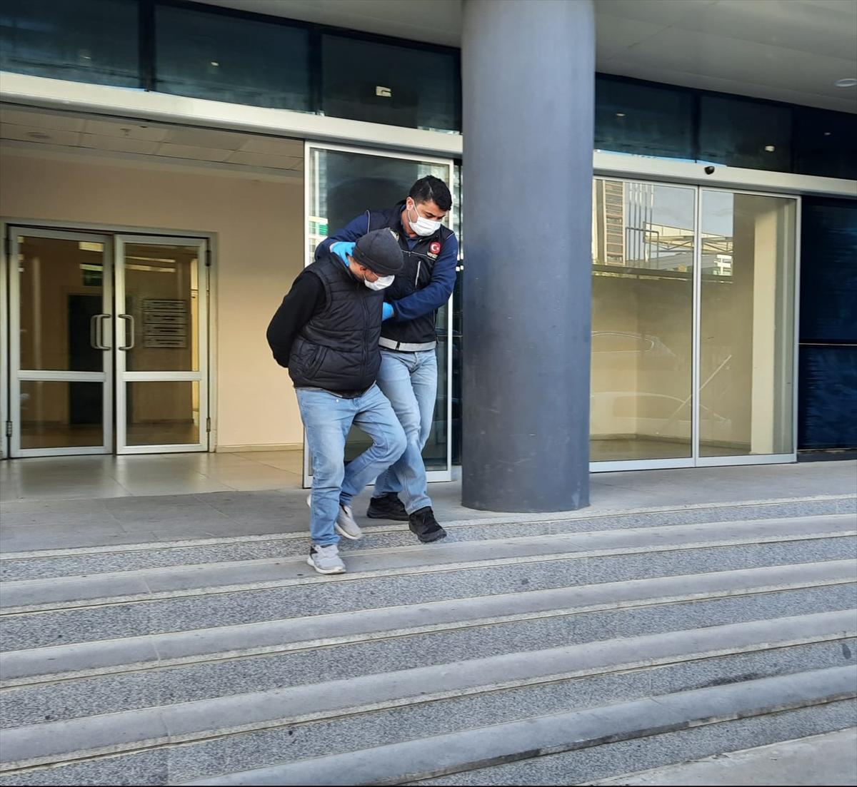 Bursa'daki operasyonda 10,5 kilogram sentetik uyuşturucu bulunduran şahıs gözaltına alındı