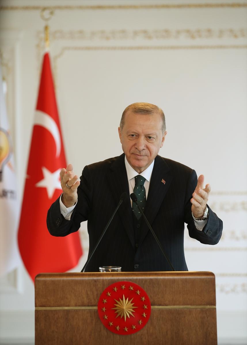 Erdoğan, AK Parti Isparta, Burdur, Gümüşhane, Kastamonu ve Sinop 7. Olağan İl Kongrelerine canlı bağlandı: (1)