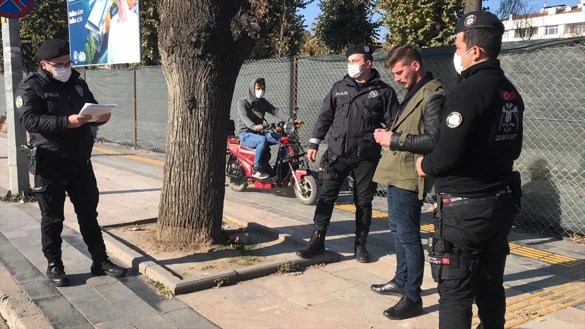 Düzce'de karantinada olması gereken kişi sokakta maskesiz yakalandı
