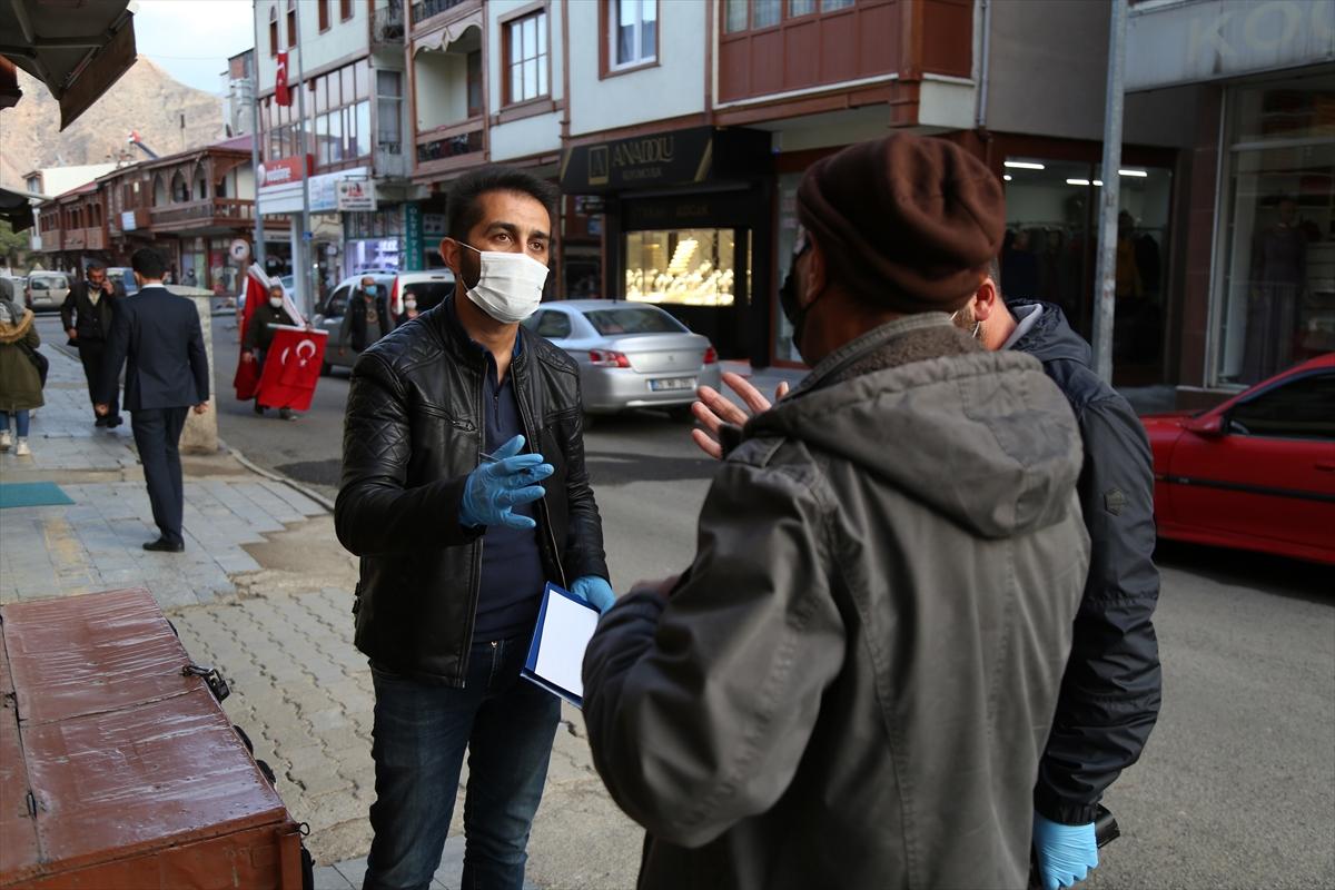 Erzurum'da Kovid-19 karantinasını ihlal eden 15 kişiye para cezası verildi