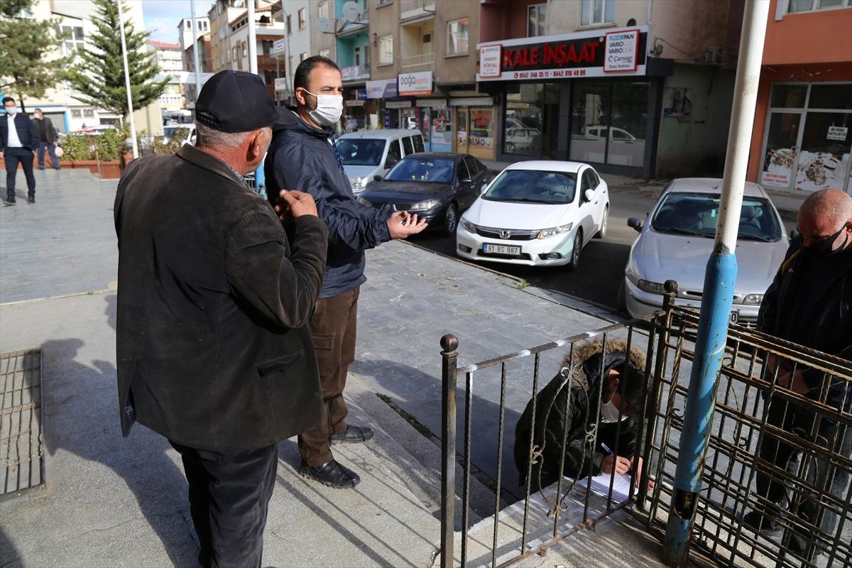 Erzurum'da Kovid-19 karantinasını ihlal eden 25 kişiye para cezası kesildi