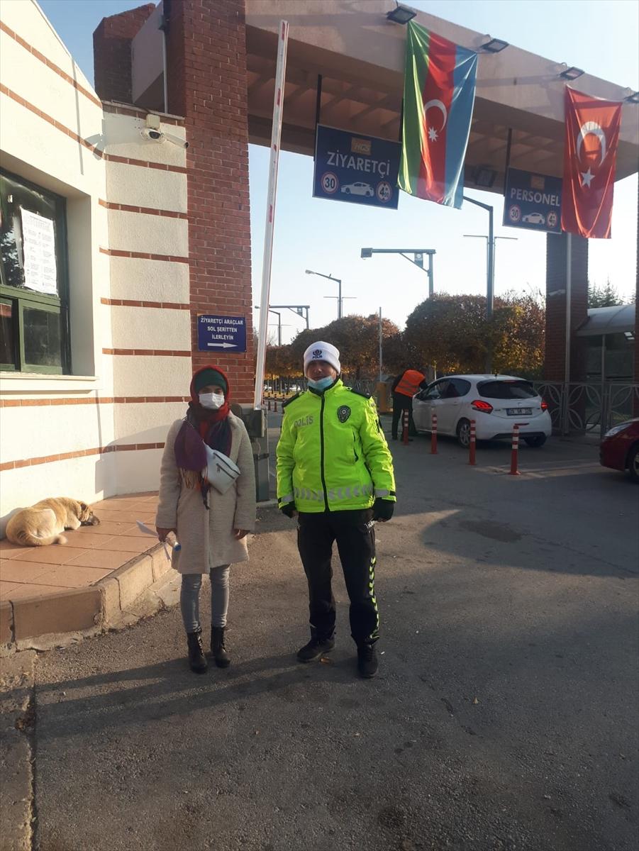 Eskişehir'de polis KPSS'ye geçen kalan öğrenciler için seferber oldu