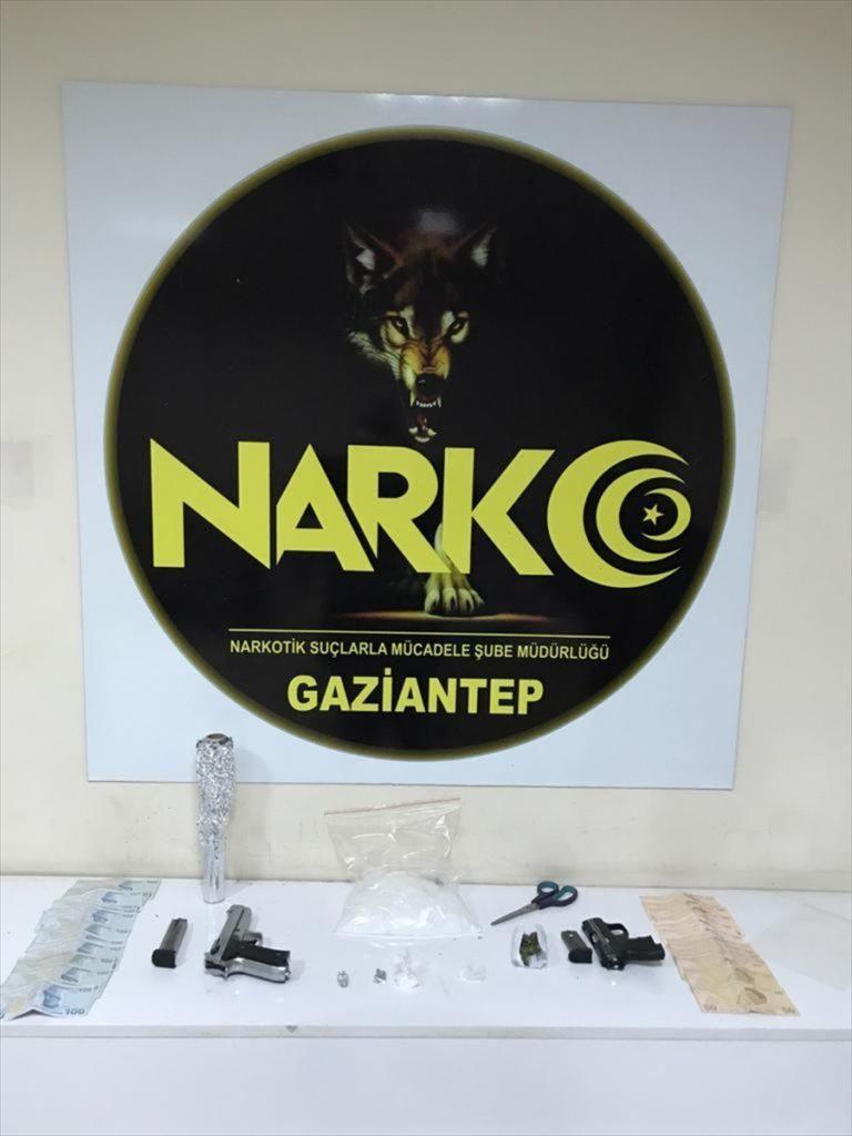Gaziantep'te uyuşturucu operasyonunda 48 şüpheli gözaltına alındı