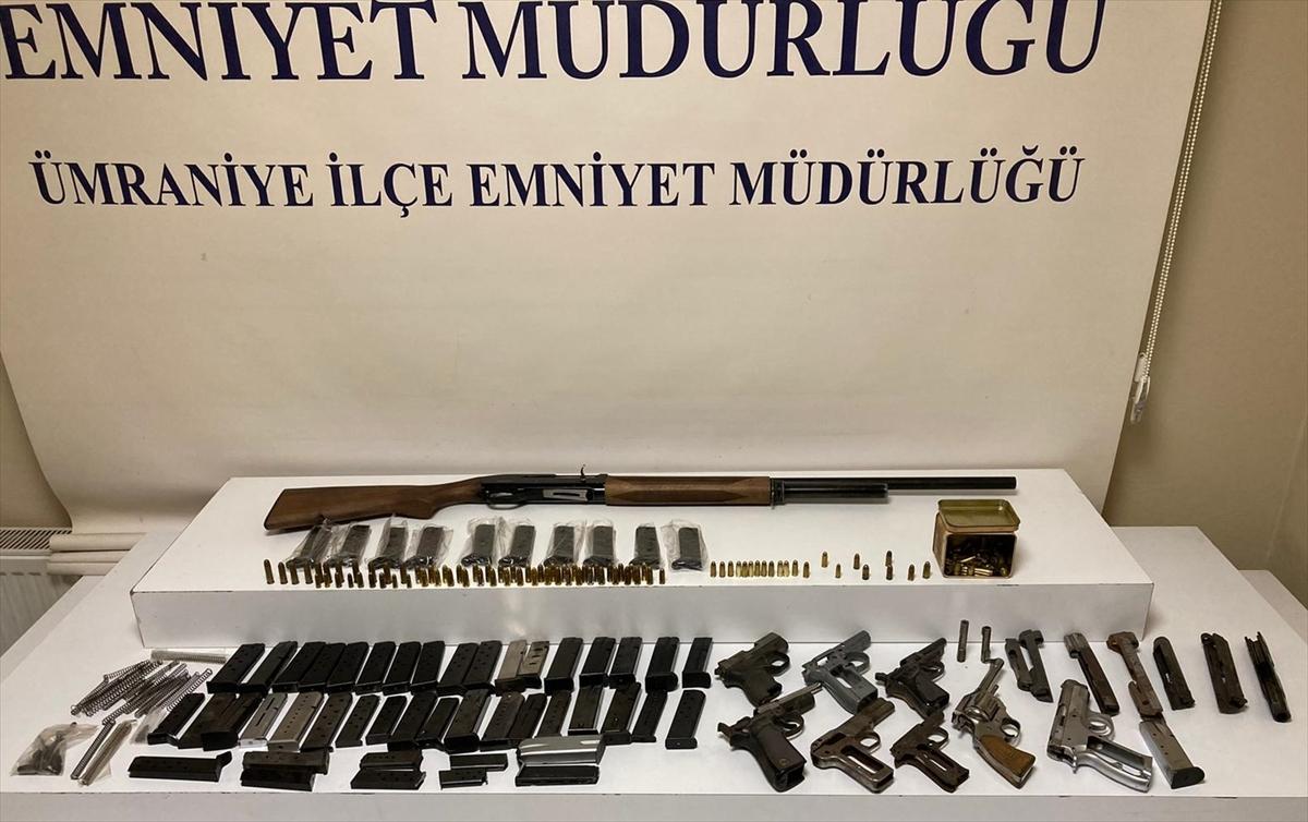 İstanbul'da yasa dışı silah operasyonu