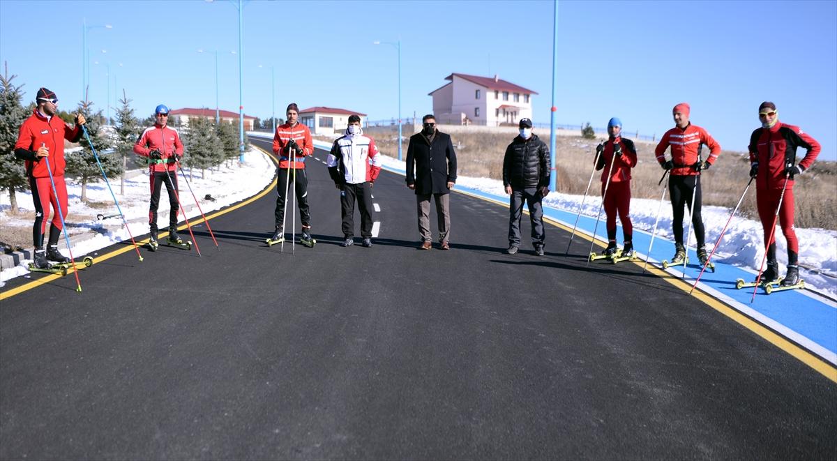 Kayaklı Koşu Milli Takımı, Ardahan'da güç depoluyor
