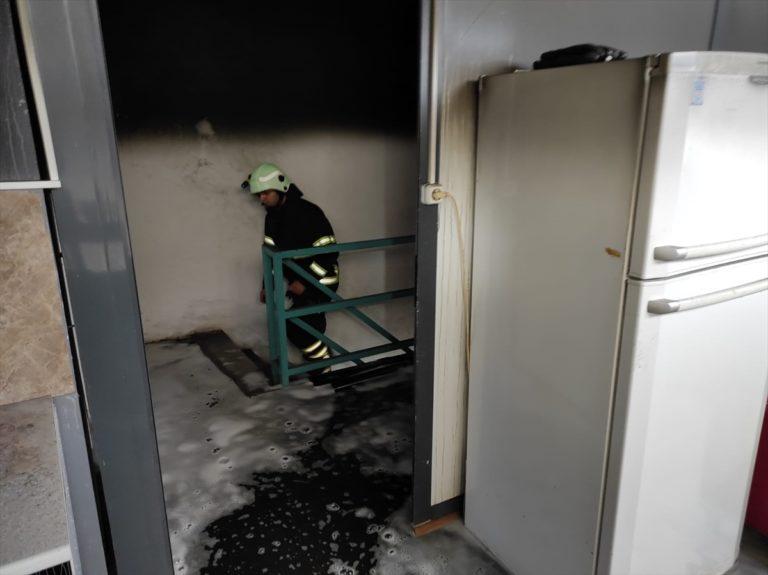 Kırklareli'nde metal atölyesinde çıkan yangın hasara neden oldu