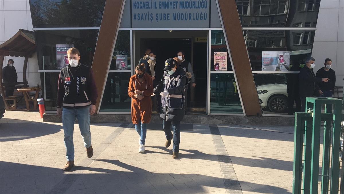 Kocaeli'nde 200 bin liralık ziynet eşyası çaldıkları iddiasıyla yakalanan 2 şüpheli tutuklandı
