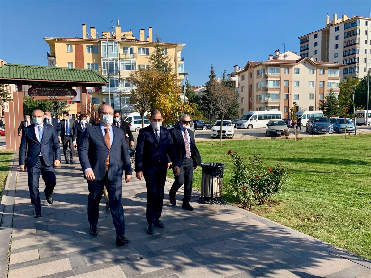 Kültür ve Turizm Bakan Yardımcısı Çam, 2021 Yunus Emre Yılı dolayısıyla Eskişehir'e geldi