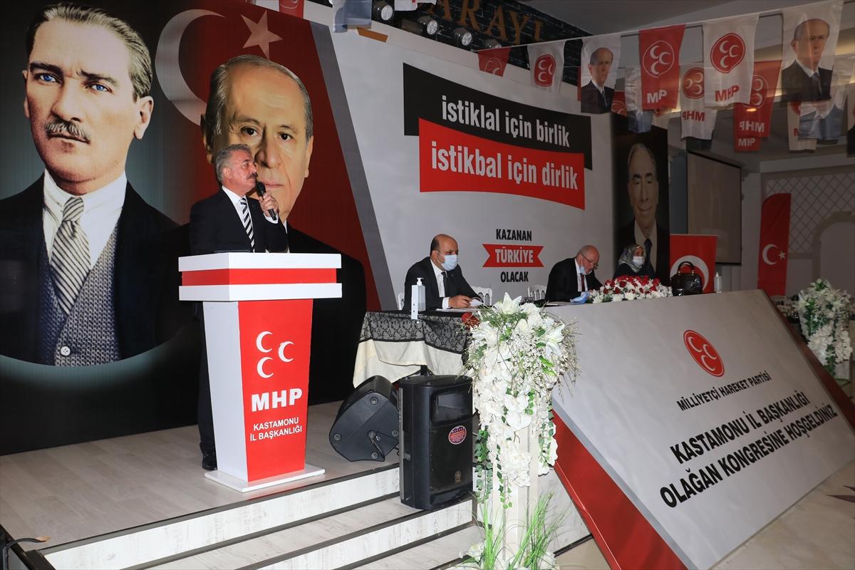 """MHP Genel Sekreteri Büyükataman: """"Cumhur İttifakı, istiklal ve istikbalimizin teminatıdır"""""""