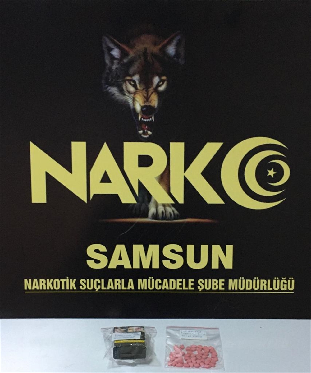 Samsun'da uyuşturucu operasyonunda 2 şüpheli yakalandı
