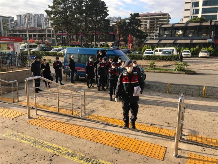 Trabzon'da hırsızlık iddiası ile iki kişi tutuklandı