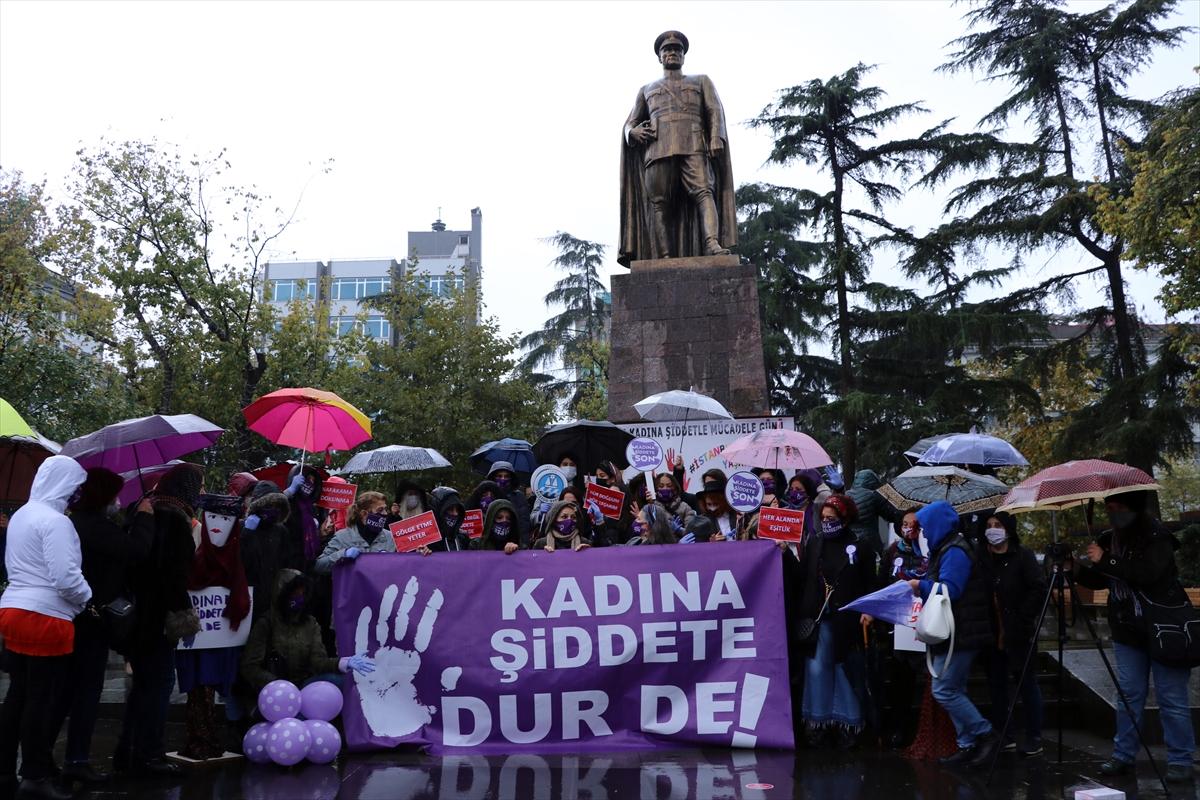 """Trabzon'da kadına şiddete karşı """"Keşanlı Kadınlar Direksiyonda"""" etkinliği düzenlendi"""