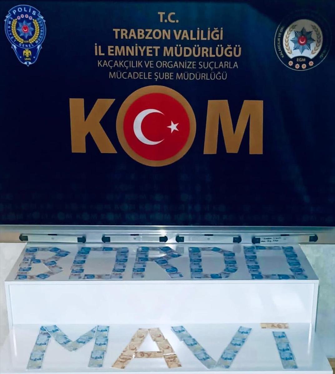 Trabzon'da sahte para operasyonunda 3 kişi gözaltına alındı