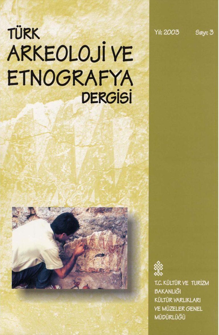 Türk Arkeoloji ve Etnografya Dergisi 10 yıl sonra yeniden okurlarıyla buluşacak