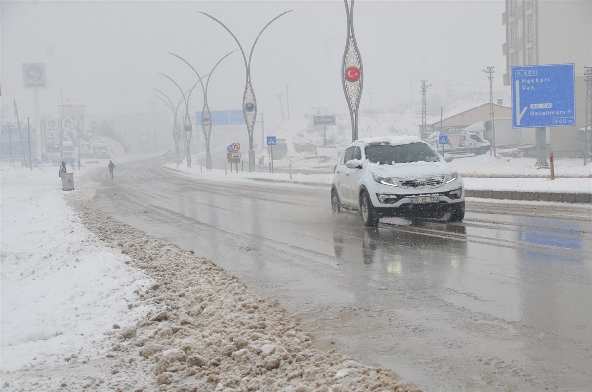 Van ve Hakkari'de kar uyarısı