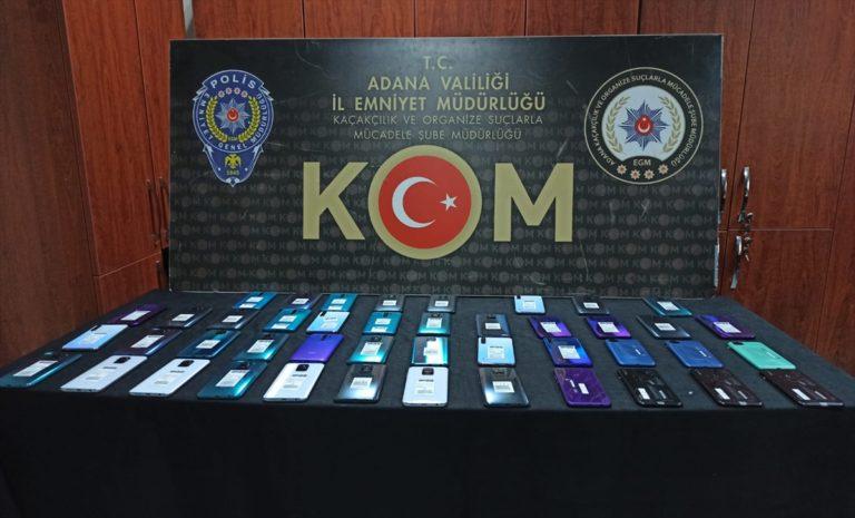 Adana'da kaçakçılık operasyonu: 13 gözaltı
