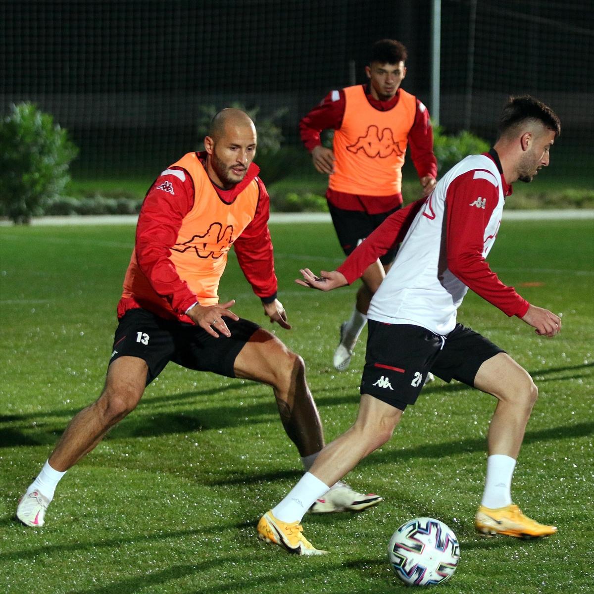 Antalyaspor, MKE Ankaragücü maçı hazırlıklarına başladı