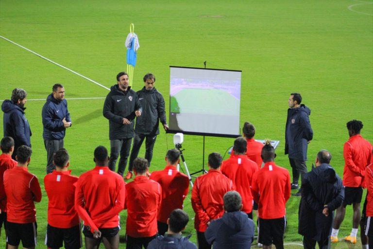Atakaş Hatayspor, Galatasaray maçının hazırlıklarını sürdürdü