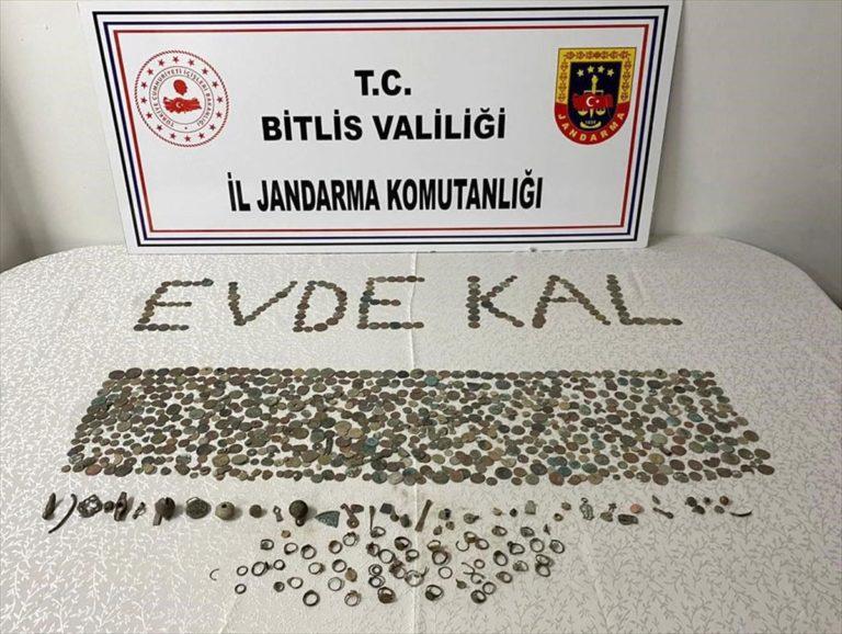 Bitlis'te tarihi eser operasyonu