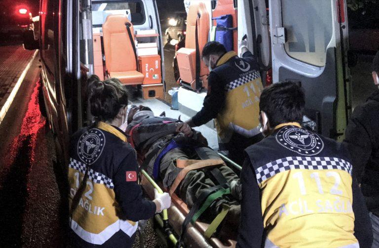 Bursa'da çalıntı kamyonetle polisten kaçan şüpheli kaza yaptı
