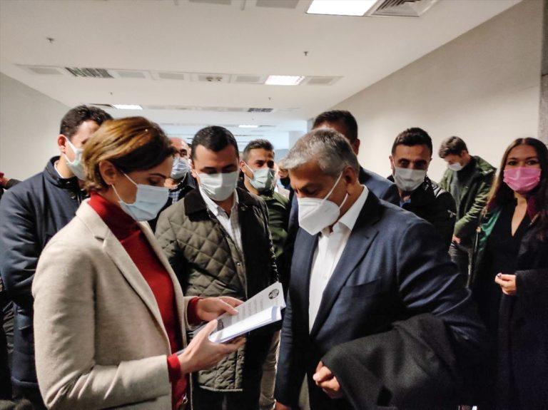 CHP eski İstanbul il başkanı Canpolat ifade verdi