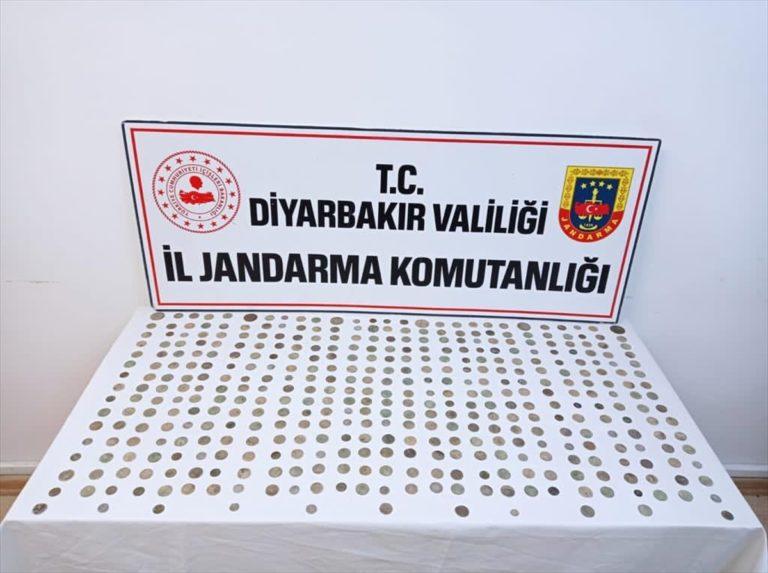 Diyarbakır'da tarihi eser operasyonu: 4 gözaltı