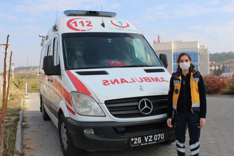 """Eskişehir'de yeni doğum yapan acil sağlık çalışanlarına özel """"anne istasyonu"""" uygulaması"""
