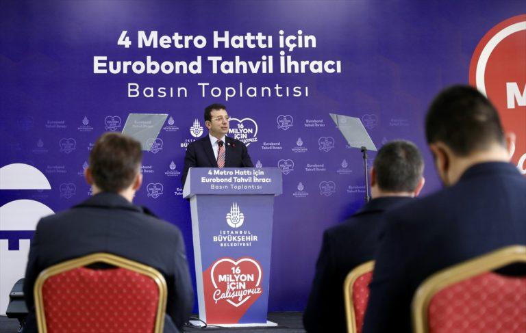 İBB 580 milyon dolarlık Eurobond satışı yaptı