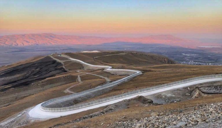 """İçişleri Bakanı Soylu: """"Ağrı-İran sınırında 81 kilometrelik Güvenlik Duvarı Projesi sona erdi"""""""