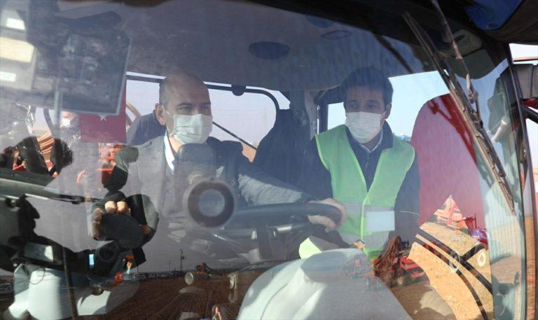 İçişleri Bakanı Soylu ile Tarım ve Orman Bakanı Pakdemirli, Şanlıurfa'da