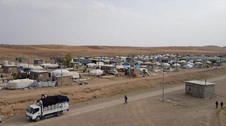 Irak'ın Kerkük kentindeki iç göçmenlere ait tüm kamplar kapatıldı