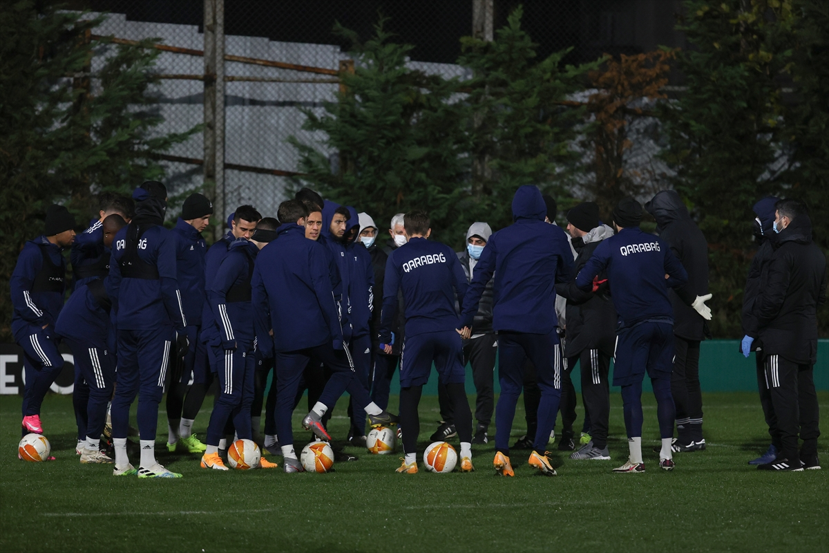 Karabağ, Maccabi Tel-Aviv maçının hazırlıklarını tamamladı