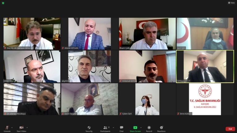 """Kayseri İl Sağlık Müdürü Benli: """"Sağlık personelimizde pozitif vakalara daha sık rastlamaya başladık"""""""