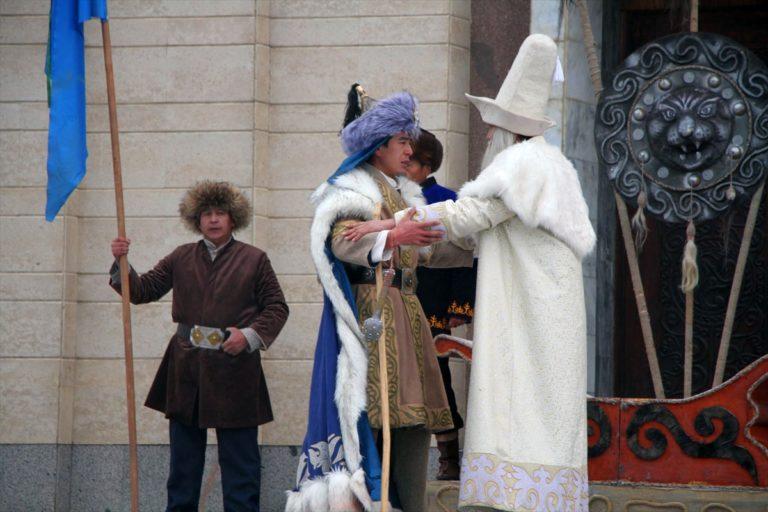 Kırgızistan'da Manas Destanı Günü kutlandı