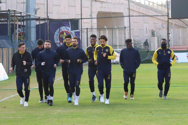 Menemenspor, Bandırmaspor maçı hazırlıklarına başladı